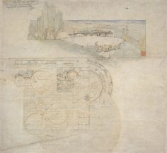 frank lloyd wright drawings | Frank Lloyd Wright - Drawings