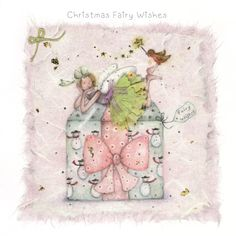 Cards » Christmas Fairy Wishes » Christmas Fairy Wishes - Berni Parker Designs