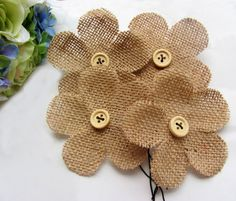 Cheap wedding favors, Buy Quality burlap flowers directly from China flower burlap Suppliers: Condition : Brand NewColor : as you see on PhotoSize : about 7.5*7.5cm ,(2.9inch *2.9inch)Materi