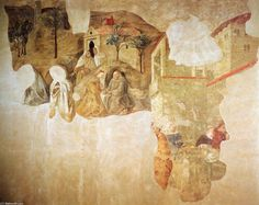 La confirmación de la Regla Carmelita, frescos de Fra Filippo Lippi (1406-1469, Italy)