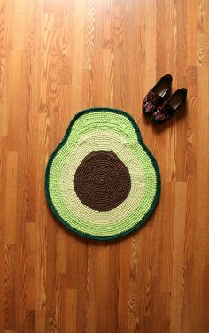 Handmade Floor Rugs in the Shape of Your Favorite Foods by SurfaceWerks