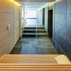 Fließende Übergänge: Der Im Gesamten #Wellness Bereich Als Wand  Und  #Bodenbelag