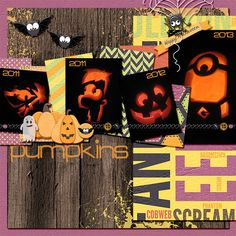 Pumpkins by sarahwhithers