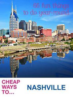 66 Fun Free Things to Do in Nashville, TN