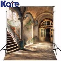 10*6.5Feet(300*200Cm) Photography Backdrops Sunshine Staircase Column Vestido De Noiva Free Shipping