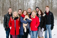 Love from Minnesota! Check out today's blog post on deboradahl.com ------------------------------- Minha Familia linda de Minnesota! Vem conferir o post de hoje no blog!
