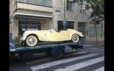 Classic car. Madrid