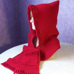 TLC Hooded Scarf - and maybe this for me...