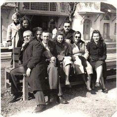 1943 – Bedri Rahmi, Abidin Dino, Güzin Dino, Sabahattin Ali, Orhan Veli,Büyükada İskelesi'nde.