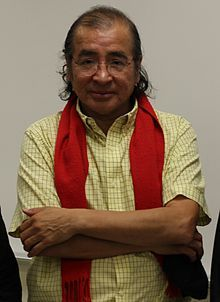 Tomson Highway- Cree. Playwrite, novelist, children's author, pianist, composer, artist and an great speaker.