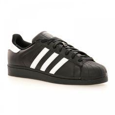 Adidas Originals Adidas Men's Superstar Foundation Trainers (Black/White) - Adidas Originals from Loofes UK