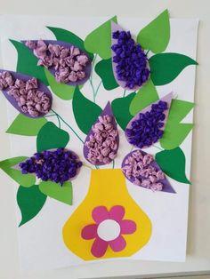 Kindergarten Crafts, Classroom Crafts, Preschool Art, Christmas Crafts For Kids, Summer Crafts, Handprint Art, Spring Art, Creative Activities, Elementary Art