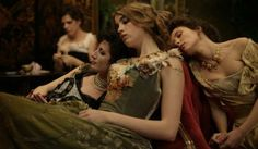 Bertrand Bonello's 'House of Pleasures,' Set in Brothel - from left, Maia Sandoz, Adele Haenel, Alice Barnole and Jasmine Trinca portray fin de siècle courtesans in Paris. Adele, Story Inspiration, Character Inspiration, Writing Inspiration, Fashion Inspiration, Mid Dress, Celine Sallette, The Cardigans, Poster
