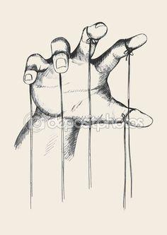 Puppet master hand