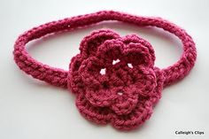 free pattern - chainless crochet foundation - for stretchy items like HEADBANDS FOR BABIES! *yay*