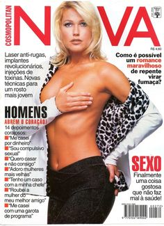 Brazilian Superstar: Xuxa is the primal power of a woman / Cosmopolitan Brazil