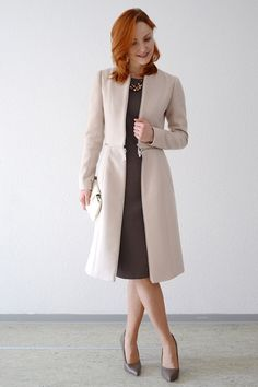 Sewing Patterns Coat Patterns Jacket by DressyTalkPatterns