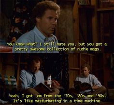"""The movie really had a way with words overall. 
