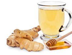 Ingwer gegen Halsschmerzen - einen Tee machen Sie so