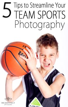 Sports Team Photography is SO profitable, but not if you are not organized...it can be a time burner! These are great tips!