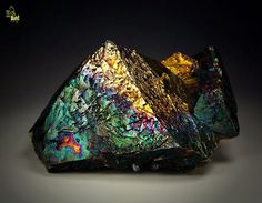 Chalcopyrite and Covellite / Gidurska mine, Madan ore field, Bulgaria