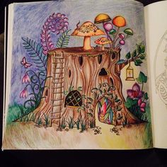 Enchanted Forest Tree Stump