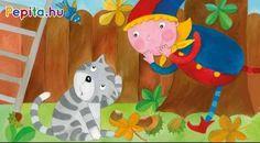 4 évszak - 4 mese. Kerekítő manó és Kacska macska mini történetein keresztül körbejárunk egy egész évet. Hőseink kalandba keverednek a gesztenyékkel, a hógömbbel, a Virágsárkánnyal és a szivárvánnyal. Minion, Kids Rugs, Decor, Products, Decoration, Kid Friendly Rugs, Minions, Decorating, Gadget