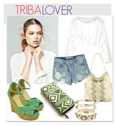 TRIBALOVER by skull-and-crossbone on Polyvore featuring Chicnova Fashion, Twisted, Ella Moss and House of Harlow 1960