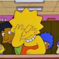 Cartoon Icons, Cartoon Memes, Cartoons, Lisa Simpson, Reaction Pictures, Funny Pictures, Simpsons Drawings, Simpson Wallpaper Iphone, Current Mood Meme