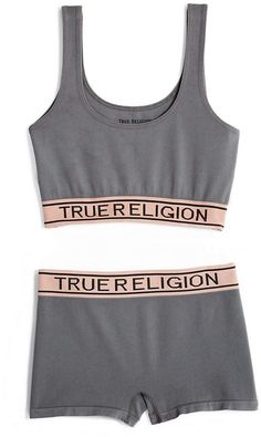 a8723833c9 True Religion Womens Bralette And Short Set