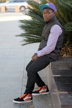 Abdul Munu, student, spotted in Rundle Mall by photographer, Jack Jericho.