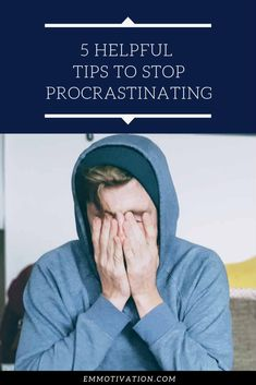 Procrastinating can make us sit and watch helplessly as the clock ticks by. However, if you keep in mind these 5 tips, it can make things easier. Productivity Quotes, Productive Things To Do, Train Your Mind, How To Stop Procrastinating, Time Management Tips, Good Habits, Self Improvement Tips, Screwed Up, Helpful Tips