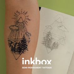 Turn your art into ink with #inkbox freehand! Just draw, leave for one hour, then wash away. Your personal masterpiece will develop in 24-36 hours and last 8-18 days. Easy Squeezy! Hanna Tattoo, Inkbox Tattoo, Get A Tattoo, Piercing Tattoo, Inkbox Freehand, Love Tattoos, Future Tattoos, Small Tattoos, Beautiful Tattoos