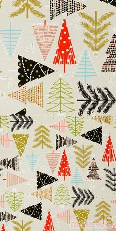 "beige fabric with orange, black trees, stars, decorations etc., Material: 100% cotton, Fabric Type: smooth cotton fabric, Pattern Repeat: ca. 63cm (24.8"") #Cotton #Trees #Christmas #USAFabrics Kawaii, Alexander Henry, Black Tree, Christmas Fabric, Xmas Tree, Decoration, Fabric Patterns, Branding Design, Ornaments"