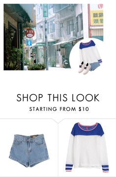 """Road"" by chttanikko ❤ liked on Polyvore featuring Chicnova Fashion and H&M"