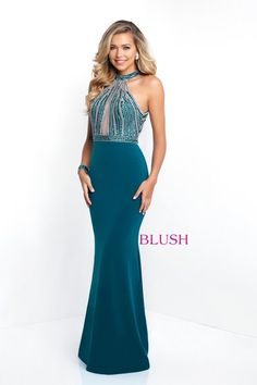 8b19ded13fc Check out the latest Blush Prom 11502 dresses at prom dress stores  authorized by the International Prom Association. Sara Loree s Bridal