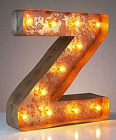 Look what I found on #zulily! 12'' Z Vintage Marquee Light by Vintage Marquee Lights #zulilyfinds
