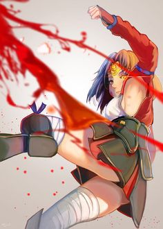 Mumei is awesome. On the same level as Mikasa or even higher.