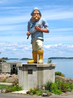 The Fisherman -- Eastport, Maine