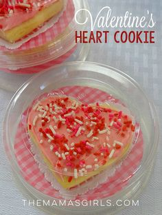 The very best Valentine's Sugar Cookies around! They are delicate and soft. When you bite into one, it literally tastes like Valentine's Day!