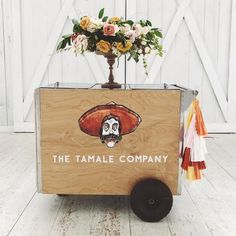 Rent our tamale cart for you next event. It includes a server and cart for 2 hours, eco friendly paper products and fresh made salsa. This cart is great for any event: Weddings, Corporate Events, Holiday Parties, Birthdays and Community Events. There is a minimum of 100 tamales.