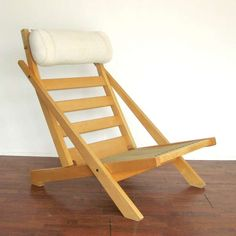 Shop lounge chairs and other antique and modern chairs and seating from the world's best furniture dealers. Folding Furniture, Plywood Furniture, Cool Furniture, Furniture Design, Outdoor Furniture, Chair Design Wooden, Camping Chairs, Affordable Furniture, Diy Chair