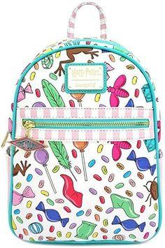 Loungefly x Harry Potter Honeydukes Candy Printed Mini Backpack #afflink Women's Mini Backpack, Hogwarts Letter, Cosmetic Bag Set, Harry Potter Gifts, Travel Purse, Backpack Brands, Universal Studios, Universal Orlando, Backpacks