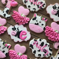 Super Birthday Cupcakes Ideas For Girls Kids Tutus Ideas Cow Birthday Parties, Baby Girl 1st Birthday, Cowgirl Birthday, Girl Birthday Themes, Birthday Cupcakes, Birthday Ideas, Cow Birthday Cake, Birthday Banners, Husband Birthday