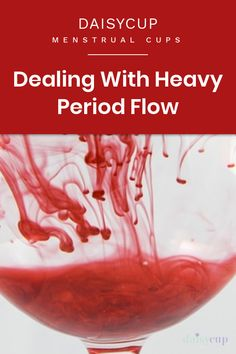 How to Deal With Heavy Periods: Learn about heavy periods and some great ways to lighten them up. Heavy periods are caused by a numbers of factors which we explore in this post. Period Hacks, Menstrual Cup, Factors, Flow, Numbers, Explore, Exploring