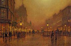 a-street-at-night