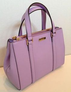 Kate Spade Newbury Lane Small Loden Satchel Handbag Purse Crocus WKRU2462 NWT