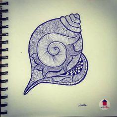 Mandala Art Lesson, Mandala Artwork, Mandala Drawing, Unique Drawings, Art Drawings Sketches Simple, Pencil Art Drawings, Madhubani Art, Madhubani Painting, Zentangle Drawings