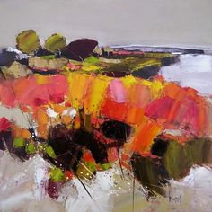 www.galerie-art-nantes.com main sub.php?rub=P_lenouvel Abstract Landscape, Landscape Paintings, Abstract Art, Galerie D'art, Impressionism, Art Sketches, Art Gallery, Herve, Acrylics
