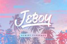 Summer is here! Jeboy typeface, a free spirited script font is coming for you today for free. This font can …